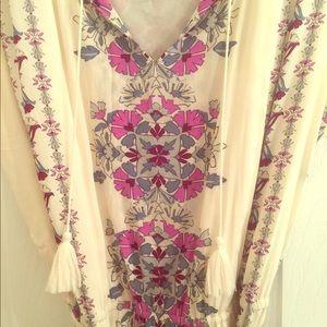 Old Navy Boho Floral Maxi Dress